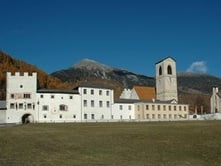 Convent of St. John in Müstair (CH) - UNESCO World Heritage Site